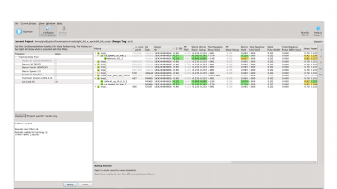 Use Training Data Filter to filter your results based on device, families, jobs etc